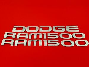 02 03 04 05 06 07 08 Dodge Ram 1500 Rear Side Emblem Logo Badge Sign Set Oem 05