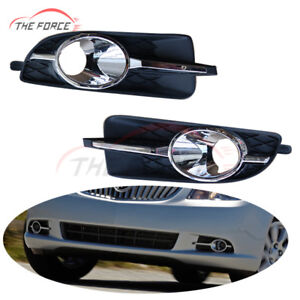 2pcs Front Bumper Fog Lights Lamps Housing Cover For Buick Lacrosse 2010 2013