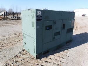 2007 John Deere 60kw Diesel Generator With Only 3000 Hours