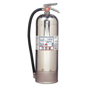 Fire Extinguisher Water Water 2 1 2 Gal 2a Ul Rating R1