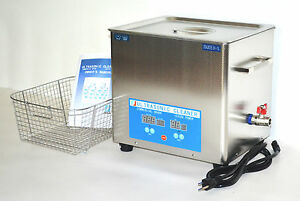 Full Set Dsa280se sk1 10l 880w Heated Industrial Ultrasonic Parts Cleaner Washer