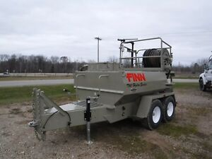 Finn T90t Ii Hydro Seeder With Only 900 Hours