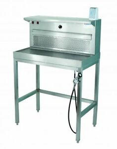 Mopec Bf500 Model Mbf5000 Down Back Draft Table Surgical Vet Workstation Autopsy