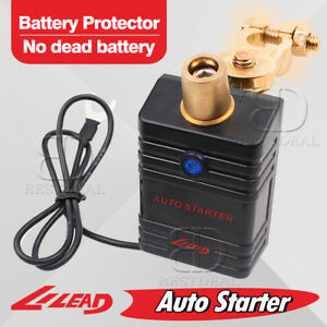 Lilead Auto Starter Car Battery Low Voltage Disconnect Protector