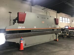 2016 Accurpress 175 Ton X 24 Press Brake W 3 Axis Cnc Control Hyd Ram Clamping