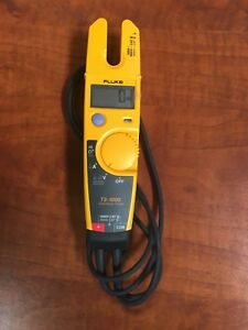 Fluke T5 1000 Voltage Current Electrical Clamp Meter Free Shipping