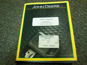 John Deere 4500 4600 4700 Compact Utility Tractor Parts Catalog