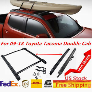 Fit For Toyota Tacoma 2009 2018 Double Cab Oem Factory Baggage Roof Rack Set
