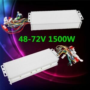 Electric Bicycle E bike Scooter Brushless Dc Motor Speed Controller 48 72v 1500w
