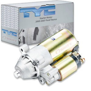 Tyc Starter Motor For 2000 2007 Ford Taurus 3 0l V6 Cy
