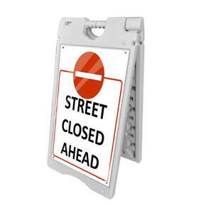 Chh 580 24x36 A frame Outdoor Windproof Double Sided Plastic Sidewalk Sign Board