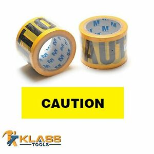 Yellow Caution Tape 3 X 300 Ft 100 Yards