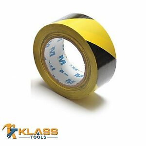 Yellow Black Vinyl Marking Tape 2 X 135 45 Yards