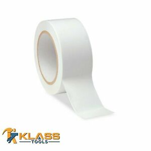 White Vinyl Marking Tape 2 X 135 45 Yards