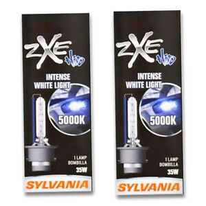 Sylvania Silverstar Zxe High Beam Low Beam Headlight Bulb For Acura Tl Pa