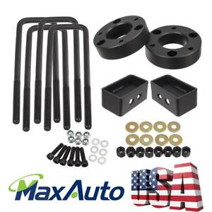 Black 2 5 Front 1 5 Rear Leveling Lift Kit For 2009 2018 Ford F150 4wd