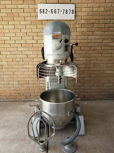 Hobart 60 Qt Mixer W Safety Cage Bowl Guard Model H600t 3phs 208 230v
