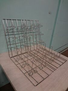 Lot Of 4 S steel Chicken Holder Racks For henny Penny Smart Combi Ovens