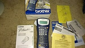 Brother P touch Pt 1400 Label Thermal Printer