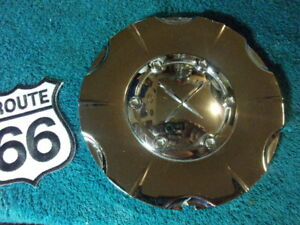 Qty X1 Exel X Chrome Custom Wheel Center Cap Hub Part Abs 5 7 8 620670f 1