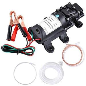 12v 5l Oil Fluid Liquid Diesel Fuel Extractor Transfer Suction Pump For Auto Car