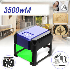 2000mw Mini Laser Engraver Diy Mark Printer Cutter Carver Engraving Machine