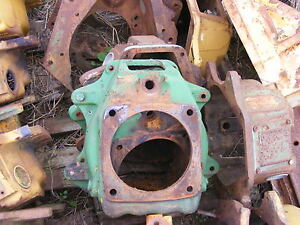 Antique John Deere M 40 420 430 Crawler Clutch Housing Farmerjohnsparts