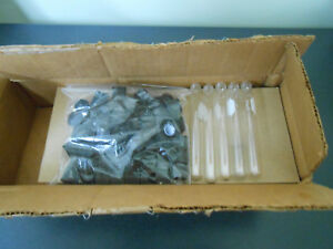 16 X 125 Mm Kimax kimble 45066 Case Of 59 Culture Tubes With Screw Caps