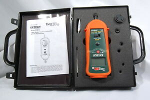 Extech Rpm 10 Combination Contact Laser Photo Tachometer infrared Thermometer