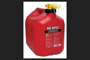 No Spill Plastic Gas Can 20 L 6450