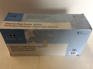 Sparco Electric Hole Punch 96003 2 Or 3 Hole