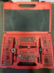 Snap on 76 Piece Tap And Die Set In Case tdtdm500a C x