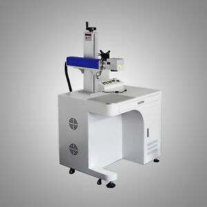 New low Price 20w Fiber Laser Marking Machine With Working Area 110mm 110mm