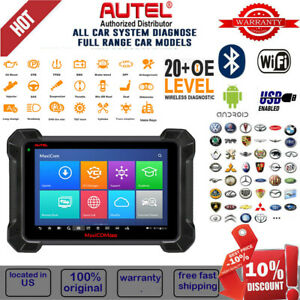 Autel Maxisys Ms908 Pro Elite Obd2 Bluetooth Diagnostic Scantool Key Programming