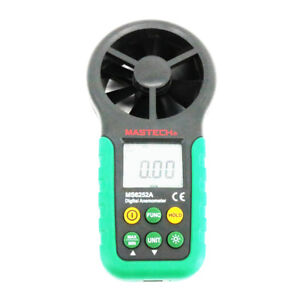 Mastech Ms6252a Digital Anemometer Wind Speed And Air Flow Tester