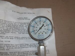 Snap On Diesel Engine Compression Tester Test Gauge