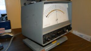 Vtg Beckman Expandomatic Ss 2 Ph Meter Expanded Scale 120 240 Model 76
