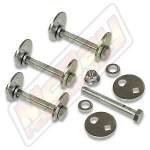 Front Alignment Camber Caster Cam Bolt Adjustable Kit Set 1997 2003 F150 2wd 4x4
