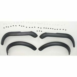 Fender Flares For 1976 1986 Jeep Cj7 Front And Rear Black 4pc