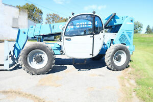 2012 Genie Gth844 Forklift 8 000 Telehandler Only 2 205 Actual Hours Jlg