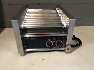 Star Grill max Model 20 C Table Top Hot Dog Roller Grill Commercial Grade