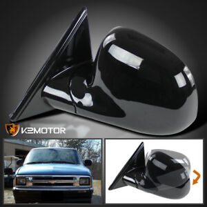 L 94 98 Chevy S10 Blazer Gmc Jimmy Sonoma Manual Side Mirror Left Driver Side