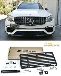 For 18 up Mercedes benz Glc 63 Amg Full Sized Front Tow Hook License Plate
