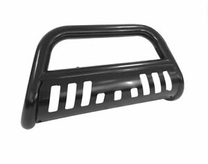 Fit 2002 2006 Chevy Avalanche 2500 Black Bull Bar Grill Guard Front Bumper