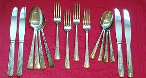 16 Pc Lot 1953 International Silver Company Revelation Ii Silverplate Flatware