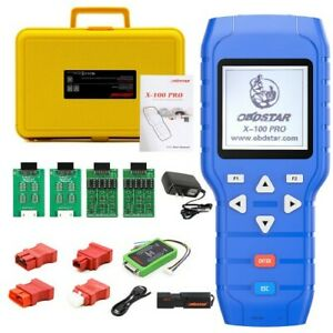 Obdstar X 100 Pro C d e For Immo odometer obd Software Get Free Pic Eeprom