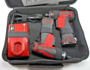 Snap On Cordless Impact Wrench Ct625 Screwdriver Cts661 W charger Battery