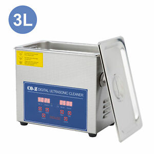 3l Professional Ultrasonic Cleaner With Digital Timer heater For Cleaning