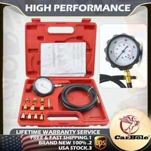 0 500 Psi 10 Bar Automotive Tools Transmission Engine Oil Pressure Tester Gauge