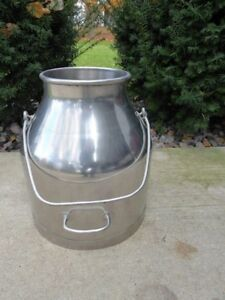 Nice Delaval Pail Milk Bucket Stainless Steel